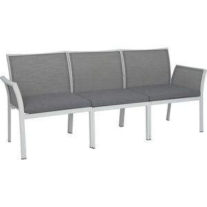 panca da giardino / moderna / in vimini / alluminio