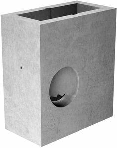 pozzetto d'ispezione in calcestruzzo prefabbricato