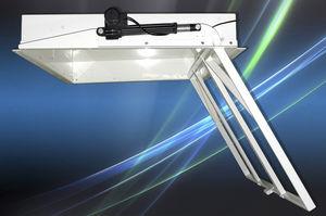 supporto per TV da soffitto moderno / con sollevatore / motorizzato a soffitto / telecomandato