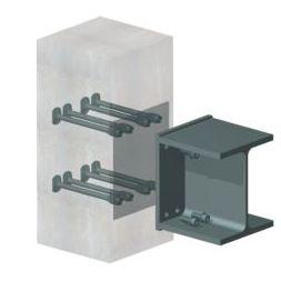 sistema di ancoraggio di acciaio