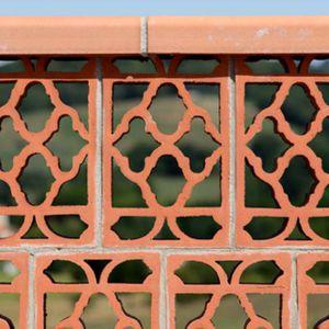 mattone di ventilazione / per parete / per muro