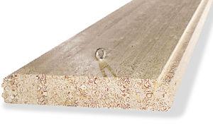 lastra per solaio in legno / in legno lamellare / per soffitto / per tetto
