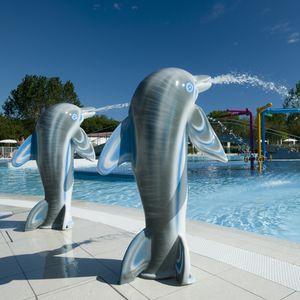 fontana per parco acquatico