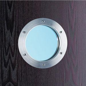 oblò in alluminio / per porta