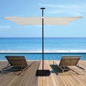 ombrellone contract / in Sunbrella® / in alluminio anodizzato / in alluminio laccato