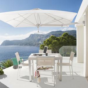 ombrellone contract / in Sunbrella® / in alluminio anodizzato / resistente al vento