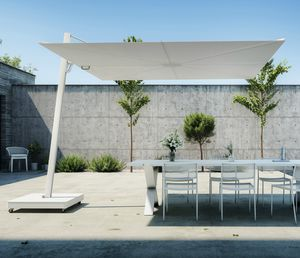 ombrellone a sospensione / contract / in Sunbrella® / in alluminio