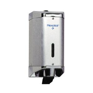 distributore di sapone contract / da parete / in alluminio / manuale