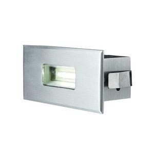 luce da incasso a muro / LED / quadrata / rettangolare