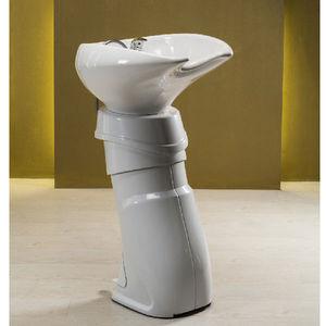 lavabo da terra / in ceramica / in polietilene / moderno