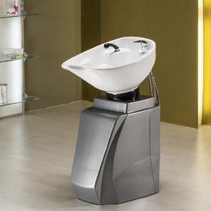 lavabo da terra / in polietilene / moderno / per parrucchiere