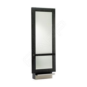 mobile da toeletta moderno / in acciaio inossidabile / in laminato / da parete