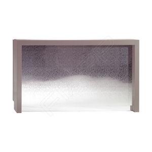 banco reception in laminato / in legno / luminoso / per parrucchiere