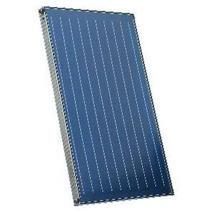collettore solare termico piano / per scaldare l'acqua / isolante