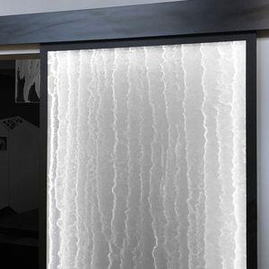 porta da interni / scorrevole / in acrilico / per camera d'hotel