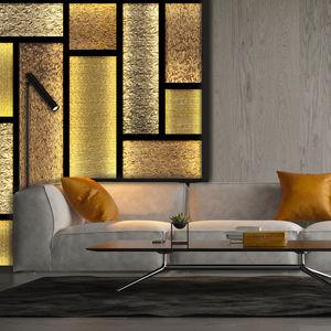 pannello decorativo di rivestimento / per mobilio / in resina / vetro sintetico