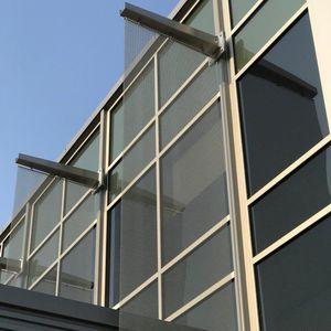 frangisole in maglia metallica / per facciata / verticale