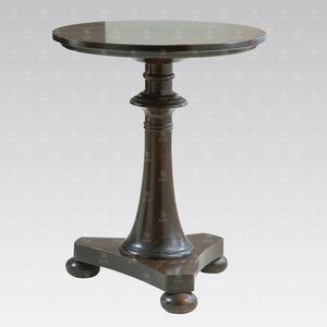 tavolino classico / in faggio / tondo / per hotel