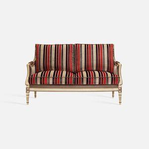 divano in stile Luigi XVI