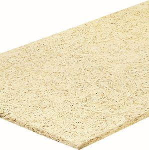 isolante termo-acustico / in lana di legno / per pavimento / in pannelli