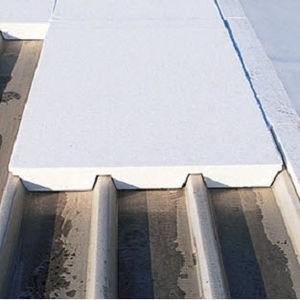 isolante termico / in polistirene espanso / per copertura metallica / per tetto piano