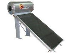 scaldacqua solare / fisso / orizzontale / a termosifone