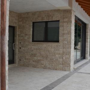 mosaico da interno / da esterno / da parete / in travertino