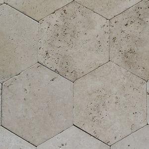 piastrelle esagonali da interno / da parete / da pavimento / in pietra