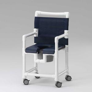 sedile per doccia mobile / da appoggio / in plastica / in acciaio