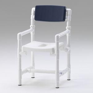 sedile per doccia amovibile / da appoggio / in plastica / contract