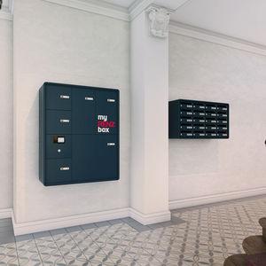 cassetta delle lettere a muro / da incasso / a pavimento / condominiale