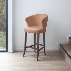 sedia alta classica / in tessuto / contract