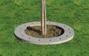 griglia per alberi rotonda