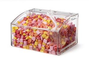distributore di caramelle da bancone / per bar / per ospedale / per hotel