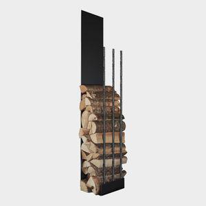 tettoia per stoccaggio legna
