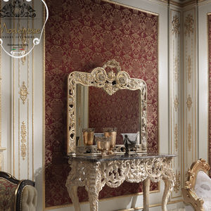 specchio a muro / design nuovo barocco / rettangolare / per hotel