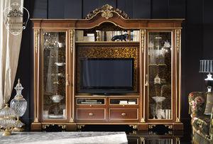 vetrina in stile / in legno massiccio / per hotel / per ufficio