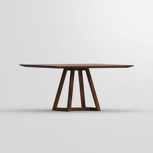 tavolo design / in frassino / in quercia / in legno massiccio