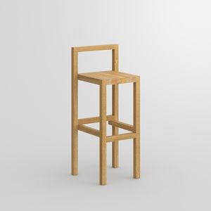 sgabello da bar design scandinavo / in quercia / in faggio / in frassino