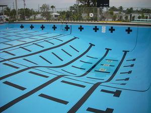 membrana per piscina in PVC / per piscine fuoriterra / per piscina pubblica / per piscina interrata
