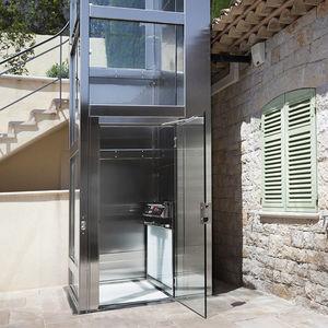 ascensore elettrico / per il settore terziario / ad uso residenziale / senza locale macchine