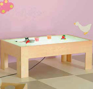 tavolo da gioco per bamabini moderno