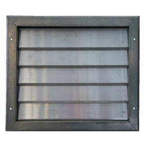 serranda di areazione in alluminio / in acciaio galvanizzato / in plastica / per scarico di pressione