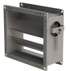 serranda di areazione in alluminio / in acciaio galvanizzato / in acciaio inox / per edificio