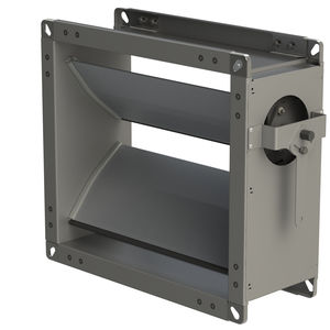 serranda di areazione in alluminio / in acciaio galvanizzato / per edificio