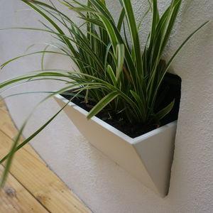 vaso da giardino in fibrocemento