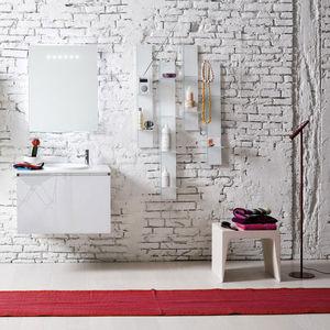 mobile lavabo sospeso / in laminato / moderno / laccato
