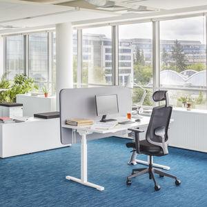 scrivania per open space / in melamminico / moderna / per ufficio
