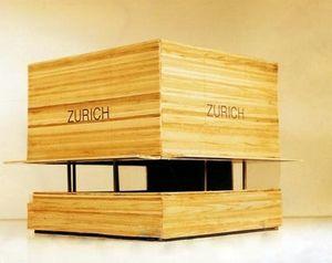 chiosco commerciale / in legno