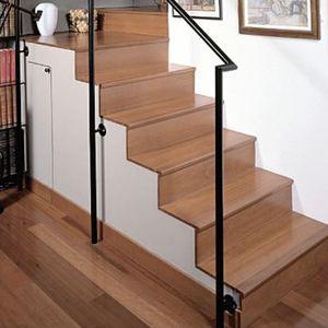 rivestimento per scalino in legno massiccio